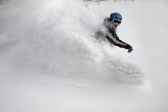 pensionante della neve Immagini Stock Libere da Diritti
