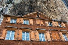 Pensione della montagna Fotografia Stock Libera da Diritti