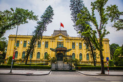 Pensione di governo di Hanoi Fotografie Stock Libere da Diritti