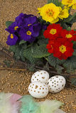 Pensione di Pasqua Fotografia Stock