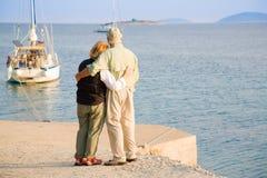 Pensione felice Immagine Stock Libera da Diritti