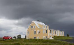 Pensione, Islanda Immagine Stock