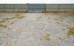 Pensione nel centro balneare Prora di KdF Fotografia Stock Libera da Diritti