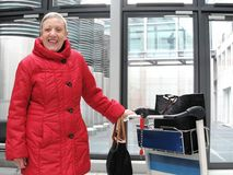 Pensioner royalty free stock photos