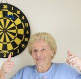 Pensionera målet Royaltyfri Fotografi