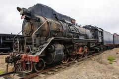 Pensionerad ångalokomotiv Royaltyfri Bild