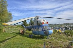 Pensionerad helikopter för Mil Mi-2 Royaltyfri Foto