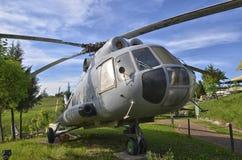 Pensionerad helikopter för Mil Mi-8 Arkivfoto