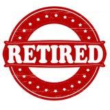 pensionerat stock illustrationer