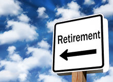 Pensionering Stock Afbeelding