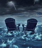 Pensioneringscrisis royalty-vrije illustratie