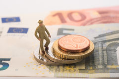 Pensioneringsfondsen Stock Afbeeldingen