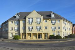 Pensioneringshuisvesting Cambourne, Cambridgeshire Stock Foto