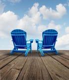 Pensioneringsontspanning Stock Foto