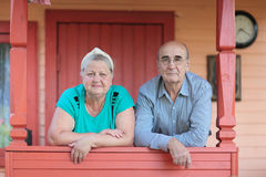 Pensioners Stock Photography