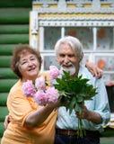 pensioners two Στοκ φωτογραφία με δικαίωμα ελεύθερης χρήσης