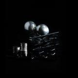 Pensiones de plata de Sufer Foto de archivo libre de regalías