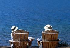 Pensionierte Freunde Lizenzfreie Stockfotografie