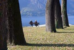 Pensionierte ältere Paarfreizeit Stockbild