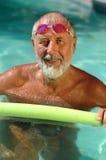 Pensionierter Athlet Stockbild