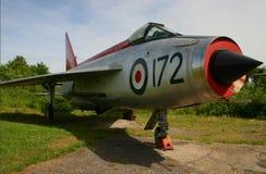 Pensioniertes Kampfflugzeug des Blitz-F-1A Lizenzfreies Stockfoto