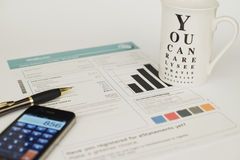 Pensionierungs-Zusammenfassung Lizenzfreies Stockfoto