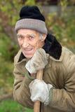 Pensionista de riso fotos de stock royalty free