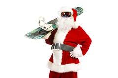Pensionista Santa Imagens de Stock Royalty Free