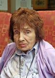 Pensionista vulnerable Foto de archivo libre de regalías