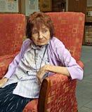Pensionné contemplatif Image stock