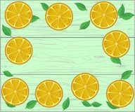 Pensionnaire frais des fruits sur le fond en bois pour votre texte Photo stock