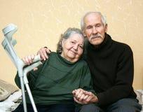 pensionärer Fotografering för Bildbyråer