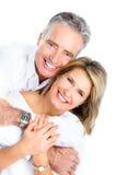 Pensionärpar Arkivbilder