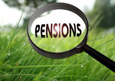Pensions Stock Photo