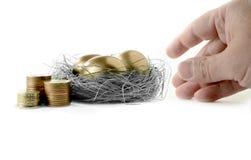 Pensions-Verfügbarkeit II Stockbild