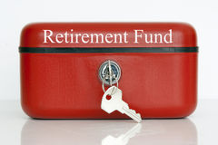 Pensionsfonds stockfotos