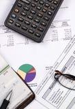 Pensionsfonds 4 Stockbild