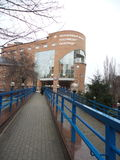 Pensiony fond. In Voronezh stock photo