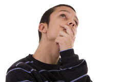 Pensive Royalty Free Stock Photography