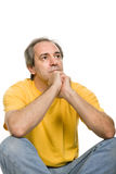 Pensive Royalty Free Stock Photo