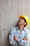 Pensive architect Royalty Free Stock Photography