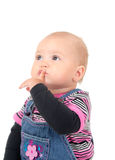 Pensive baby Stock Photos