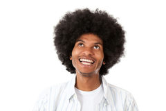 Pensive black man Royalty Free Stock Photo