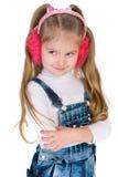 Pensive blonde girl Stock Image