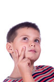 Pensive boy 3 Stock Images