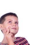 Pensive boy 2 Stock Photos