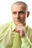 Pensive businessman Stock Photos