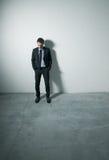 Pensive businessman Stock Images