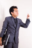 Pensive businessman Royalty Free Stock Photo