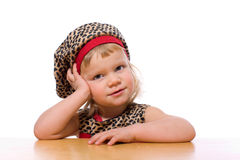 Pensive child Stock Photography